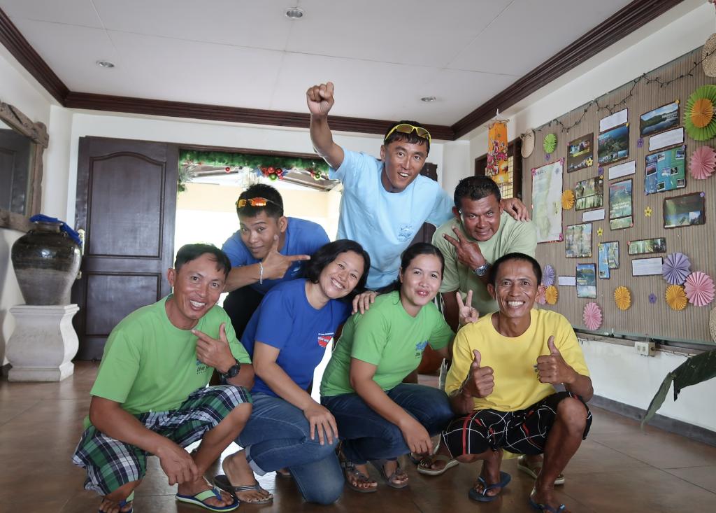 フィリピンでダイビング・セブ島・アポ島・ボホール島・シキホール島・「ラッキーダイブ」のスタッフたち