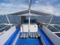 ダイビング バンカーボート